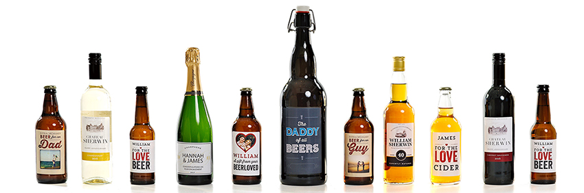 Personalised Beer & Cider