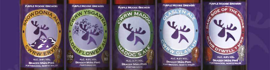 Purple Moose Brewery/Bragdy Mws Piws
